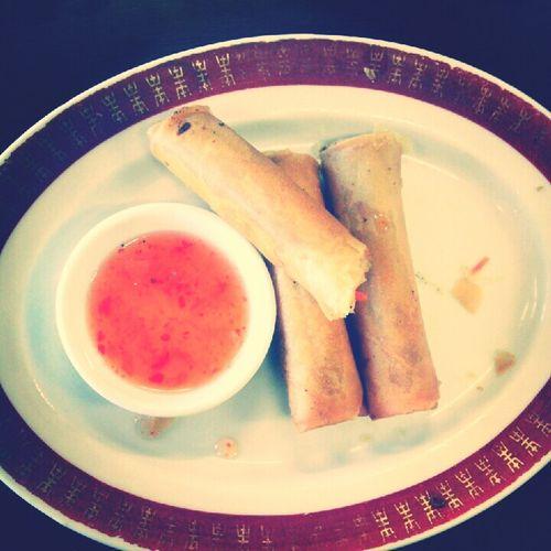eggrolls! :D Food