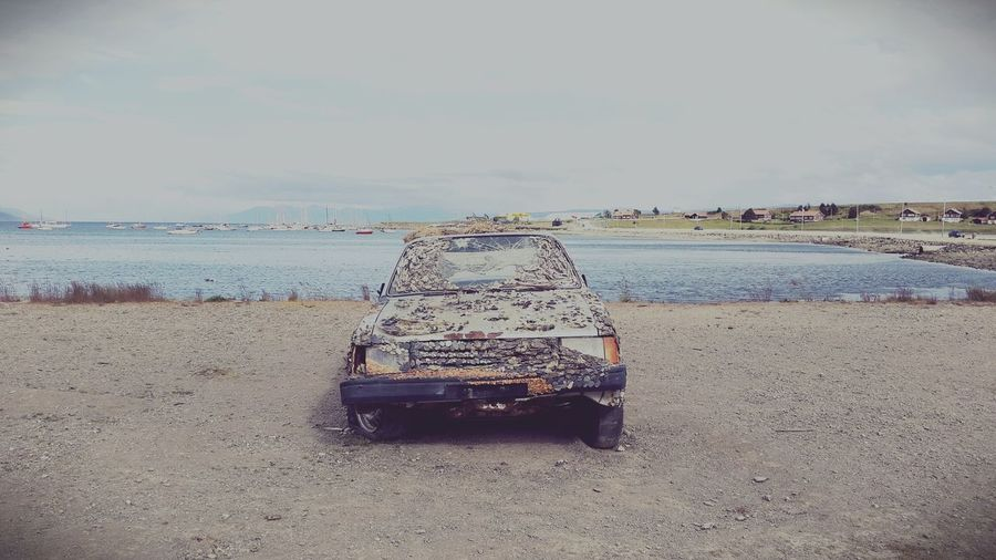 Bonustrack Abandoned Car Shells Seaside EyeEm Best Shots Streetfighter First Eyeem Photo Abadoned Retro Trip Trippyshit Shore Sandy Beach