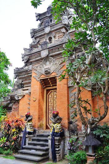 Ubud Palace in centre of Ubud Bali Ubud INDONESIA Backpacking Temple Palace Traveling