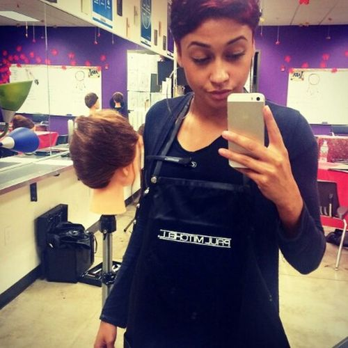 Just to update on my life. School PAUL MITCHELL