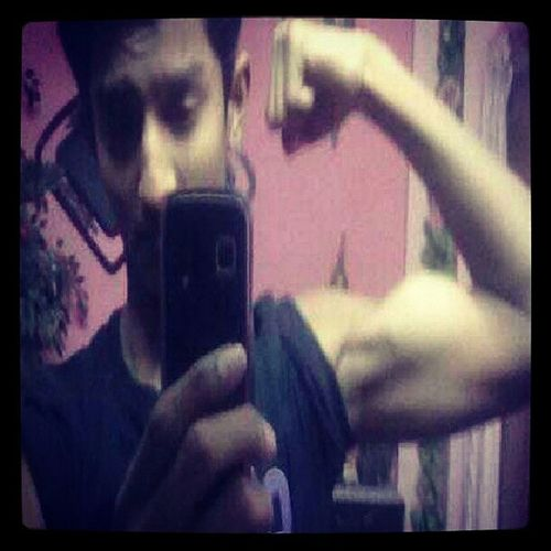 Believeitornot @ 15 ~||~ Bodybuilding Fitness Selfie ♥ Picoftheday All_hots Biceps Love It ❤ Keeping It Simple