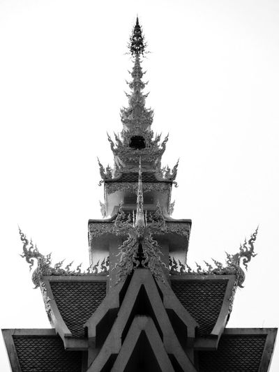 Wat Rongkhun Architecture Beautiful Temple Intricacy Religious Architecture Sculpture Curves And Lines Sacred Geometry White Temple Thailand Watrongkhun White Chiang Rai | Thailand Intricate Details Sculpture Detail WatRongKhunWhiteTemple Wat Rong Khun Chiang Rai Chiang Rai, Thailand White Temple Temple Black And White Black And White Photography Black And White Temple Black And White Architecture Pointed Roof