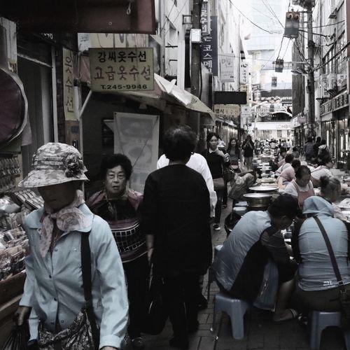 Streetphotography Nampodong Busan Korea Candid Market Canon80d
