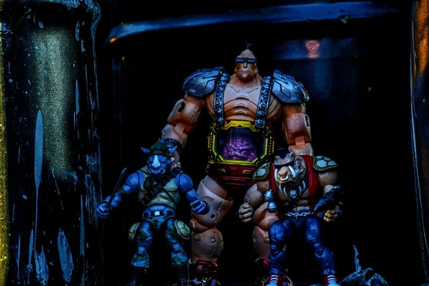 Ata_dreadnoughts EyeEm Best Shots Toy Photography Toyphotography Outdoor Toy Photography Action Figure Photography Actiontoyart EyeEm Best Pics Action Figures Eyeem Best Toy Shot Outdoor Photography Teenage Mutant Ninja Turtles  Tmnt Rocksteady Bebop Krang