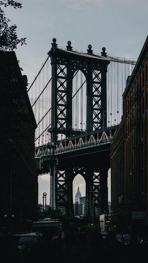 Brooklyn DUMBO DUMBO, Brooklyn Manhattan NYC New Yokr New York City Travel Architecture Bridge Bridge - Man Made Structure Built Structure Manhattan Bridge Tourism Travel Travel Destinations Urban