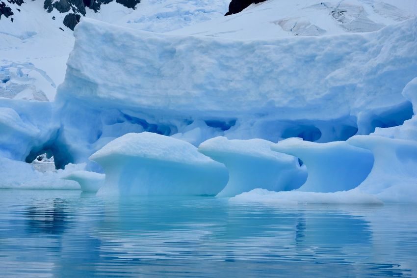 Antarctic Antarctic Peninsula Antarctica Frozen Glacier Glaciers Ice Iceberg Ocean Polar Climate Reflections Reflections In The Water Snow Winter Wonderland