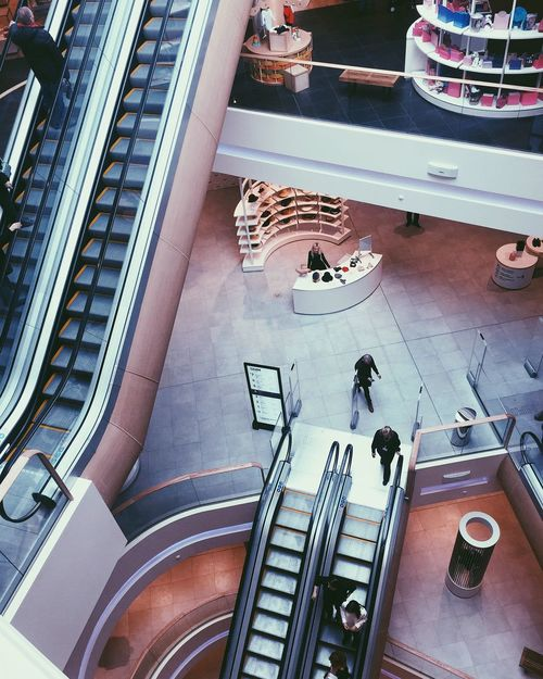 High Angle View Staircase Steps Steps And Staircases Railing Escalator Real People Women Indoors  Day Lifestyles Sitting Men Architecture People Large Group Of People Adult Adults Only The Architect - 2017 EyeEm Awards