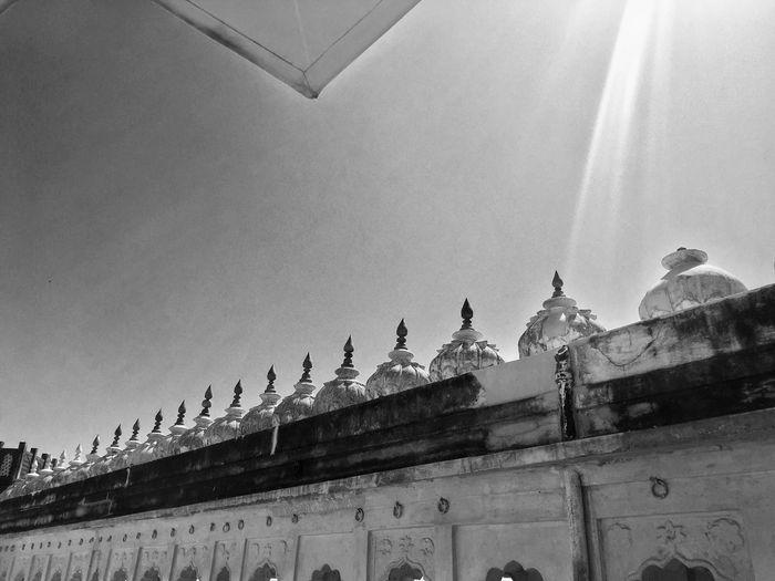 Mehrangarh Fort Jodhpur B&w Photography