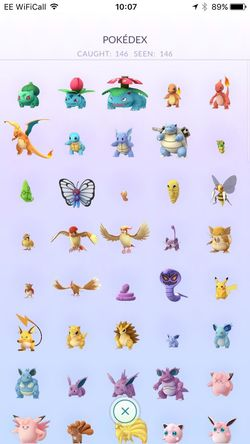 Pokemon Go Pokémon Pokedex