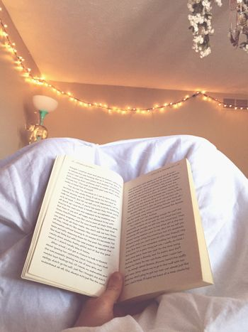 Reading Book Bed