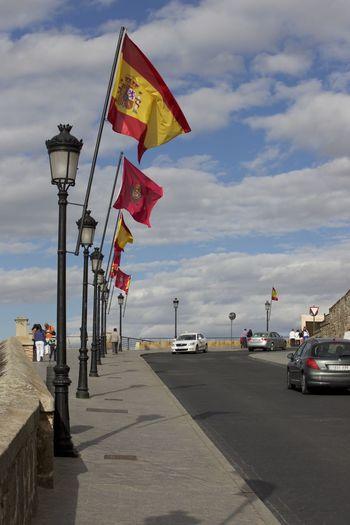 Bandeira CeuAzul City Cloud - Sky Day Espanha EspanhaXaustralia No People Outdoors Sky Transportation