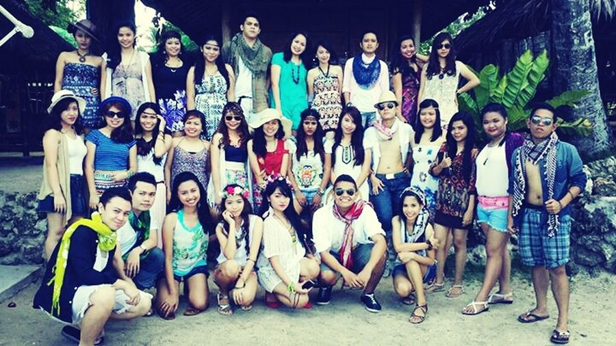 Sneak Peek of our class picture!:) BSAT4E Boho