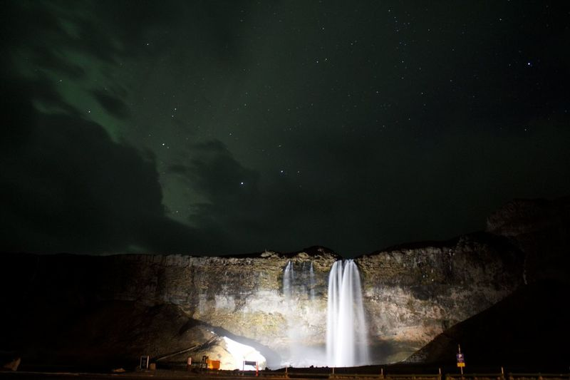 Ahora fall Nightphotography Lights In The Dark Aurora Borealis Nigth Ligths Night Fall Beauty In Nature Astronomy Space Galaxy Star - Space Astrology Sign Water Waterfall Constellation Milky Way Illuminated Space And Astronomy Nebula Space Exploration Aurora Polaris Astrology