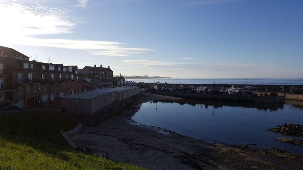 Bamburgh Bamburghcastle Day Harbor Harbour Harbour View Landscape Landscape_Collection Landscape_photography No People Outdoors Sea Sea And Sky Seahouses Seascape Photography Seashore Seaside Season  Sky Sky And Clouds Skyline Water