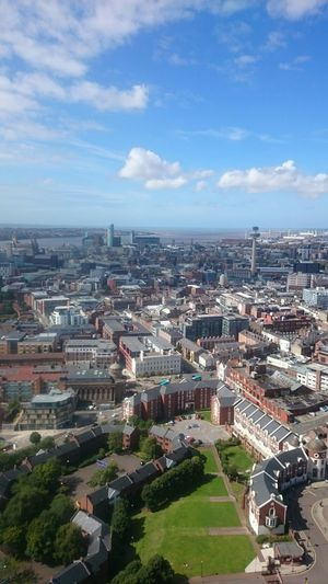 The classic view from the top Tweetfromthetower @LivCathedral