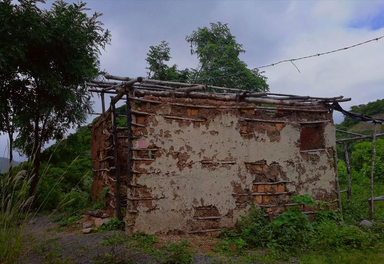 Outdoors No People Old House Adobe Wall Clay Wall Old Buildings Desolated