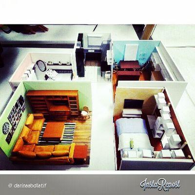 model-model yg dibuat oleh kami AP1171B :) Interiordesignstudent . saya punya yg belakang sekali tu ( kitchen & dining area ) lecturer pilih kitorng punya model and some model yg lain utk letak at dlm bilik dia :D