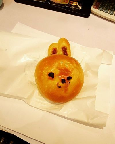 Mondaytreat Custardbun Custardbunny Bunny  Cutefood KAWAII Supercute Breadandbistro