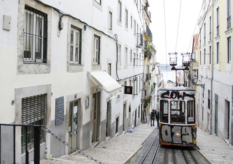 Lisbon Lisboa Lisboa Portugal Outdoors City Travel Destinations Tramway Travelling Photography Travelling Portugal Lisbon Streets