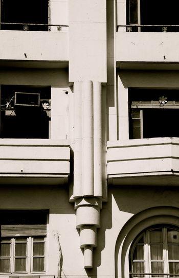 Architectural Detail Architecture Architecture Architecture_collection Building Exterior Exterior Monochrome No People Razionalismo Tunis Ville Nouvelle Window