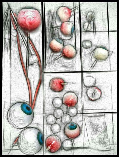 Painting Sketch Sculpture Mixedmedia Eyeemeyes √ Art Eyeemeyes Art, Drawing, Creativity My Monsters Are Friendly Drawing