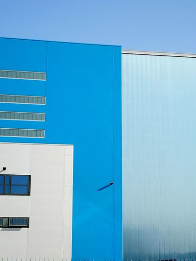 Color Palette Urban Geometry Architectural Detail Blue Color The Architect - 2017 EyeEm Awards