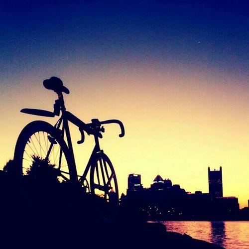 Forever. Sunrise Bicycle Fixed Gear Fixie Mercier Aerospoke Fixies Cityporn Kilo Tt