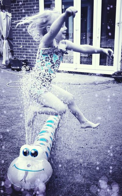 Outdoors Motion Spraying Day Water Funtimes Sunnydays Coloursplash Young And Free No Cares