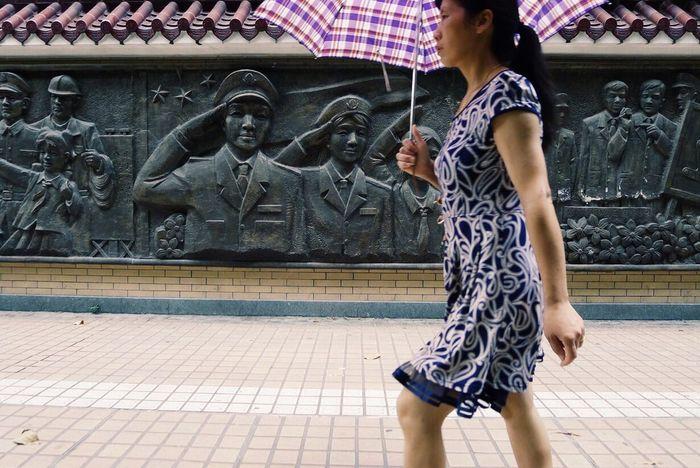 We salute you Guangzhou China Salute