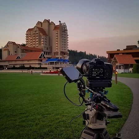 Some days you just have to MakeItHappen up at 330am Shooting Onlocation by 430am. It's all about getting the Shot Onlocation Productionlife Timelapse Northwest Upperleftusa