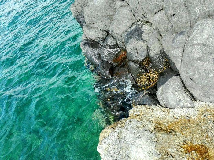 """ Salty Rocks "" Nature Water Beauty In Nature Sea Life Close-up Sea Sea Rocks Water Splashing On Rocks Blue Green Sea"