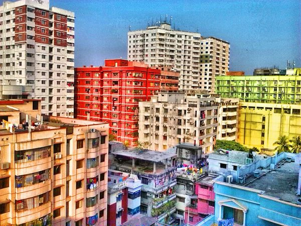 Wanted to find the color in life! Did I find that? Buildings Heights Colorful Taking Photos Window View Veranda Check This Out Hello World Nothing Compares Height Photography Seeing The Sights