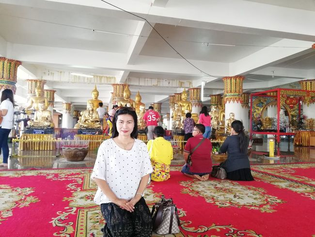 Worship Buddha Religion Thai Temple Thai Culture Temple Crown Smiling Beautiful Woman Beauty Portrait Women Business Beautiful People Luxury Cheerful Place Of Worship Mosque Church Royalty