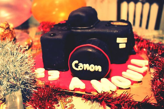 Birthday cake Canon Photography