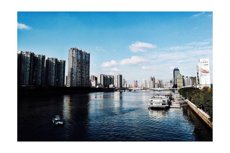 广州的一抹蓝 First Eyeem Photo