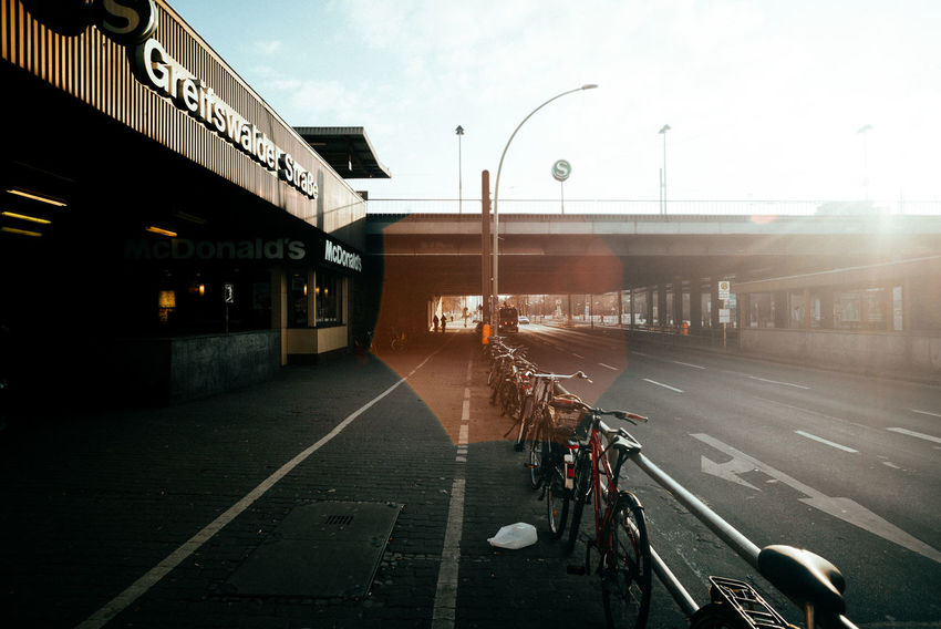 Beauty lens flare Berlin Love Berlin Photography City City Life City Street Cityscape Daytime Road Station Sunlight Urban Geometry Berliner Ansichten Citylife Daylight Lens Flare Lensflare Light And Shadow Road Marking Road Sign Street Streetphotography Sun Sunshine Train Station Urban