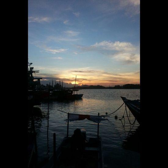 Sunset River Kualaterengganu Losong