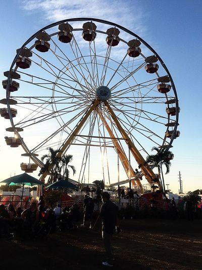 At The Fair Ferris Wheel