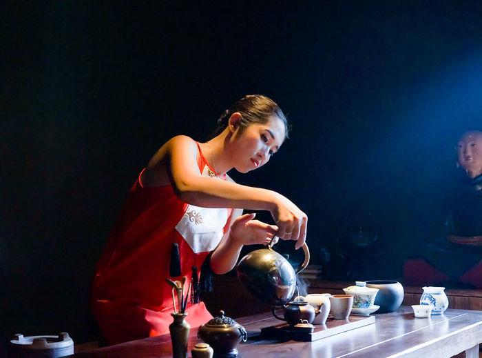 BaoKhanh MayMuaThu Tea Tea Ceremony