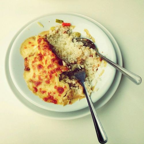 cheesy baked rice Food Food Porn In My Mouf Western Food
