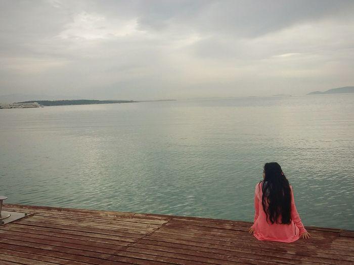 Sea Freedom Sky Water Pink 🌊