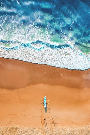 Heading Out 🌊🚣‍♂️🏖 Available as Fine Art Print on www.kess.gallery #theshire #wanda #surflifesaving #sutherlandshire #cronulla #cronullabeach #beach #seascape #beachscape #nulla #drone #drones #droneoftheday #droneglobe #fromwhereidrone #dronegear #dronesetc #dronelife #dronesaregood #aerialphotography #dronestagram #dronesarefun #dronepics #dronephoto #dji #djiphantom #phantom4pro #iamdji #twentyfoursevendrones Land Sand Water Nature People Vacations Holiday