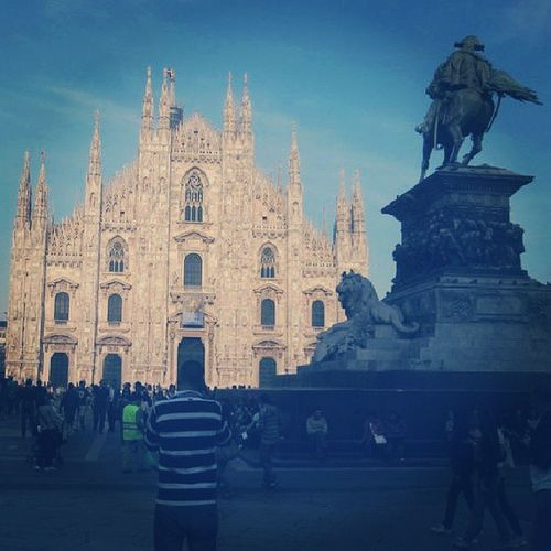 Throwback Travel Milan Alduomo Italy amazing city cultures