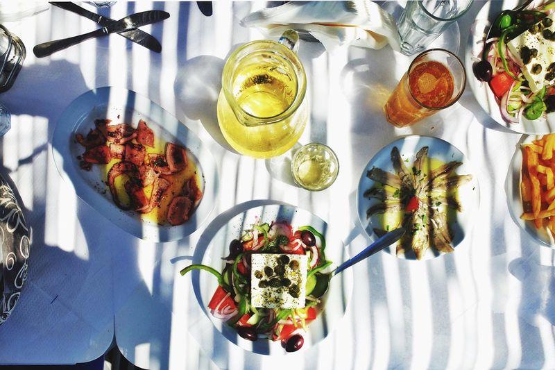 Food Porn Awards Greek Food Restaurant Taverna Light And Shadow Foodblogger