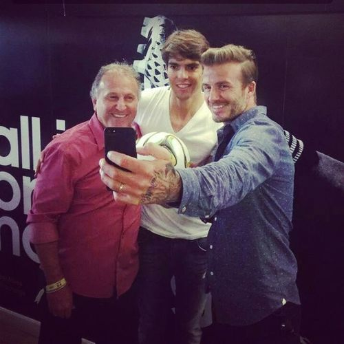Zico Kaká Beckham Selfie Legends