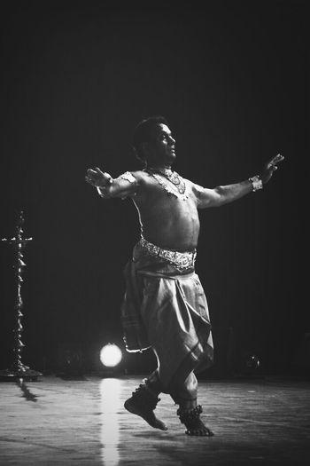 Blackwhite Indian Dance HumanArt