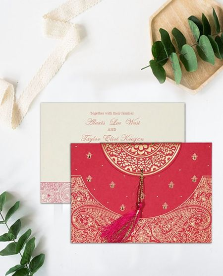 Exhibiting elegance and style, this finest will make your special day more special with its exquisite designing, alluring hues and ultimate styling. Perfect for all styles of wedding, this is a pocket friendly option too. You are surely going to pick this wedding invitation if you are planning to have a vintage, retro or contemporary style wedding. Shop this card at https://www.indianweddingcards.com/card-detail/CIN-8234I For more, Visit us at https://www.indianweddingcards.com/indian-wedding-invitations EMBOSSED WEDDING CARDS Indian Wedding Cards Indian Wedding Invitations Modern Indian Wedding Invitations, Wedding Invitations Cards Wedding Cards Wedding Invitations