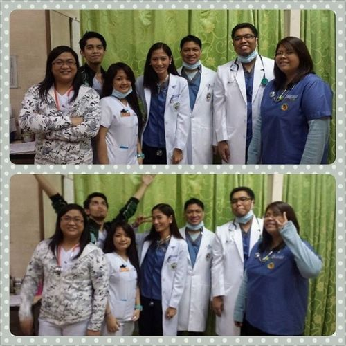 Team Barce. =) Er Clerkship Makeupduty Residents