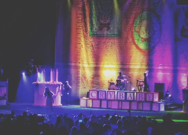 Mother Daughter Date Night Concert Melanie Martinez Crybaby Crybaby Tour Melanie Martinez Dancing Singing Crowds Nightlife Music Arts Culture And Entertainment Illuminated On Stage Light And Shadows Los Angeles, California Epic Night First Concert Making Memories