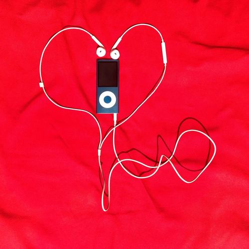 Music Ipod Red